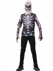 T-shirt et cagoule Skull Trooper Fortnite™ adolescent