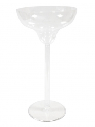 Coupe à monter en plastique vase margarita 48 cm