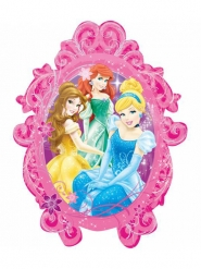 Ballon hélium cadre Disney Princesses™ 63 x 78 cm