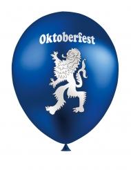 12 Ballons en latex Oktoberfest