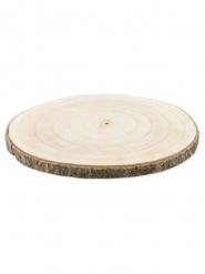 Rondin de bois 30 x 2 cm