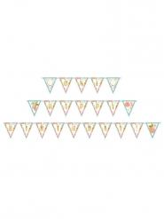Guirlande fanions en carton anniversaire Boho 4 m 57