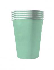 20 Gobelets américains carton recyclable menthe 53 cl