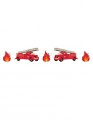 Guirlande en carton Pompier 3 m