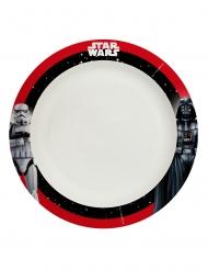8 Assiettes en carton home compostable Star Wars Final Battle™ 24 cm