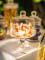 Bonbonnière à cloche en verre 20 cm-2