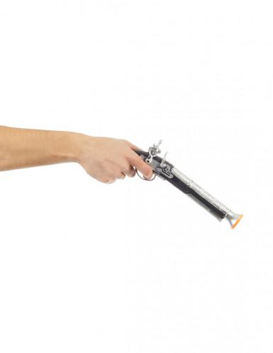 Pistolet de pirate enfant en plastique-1