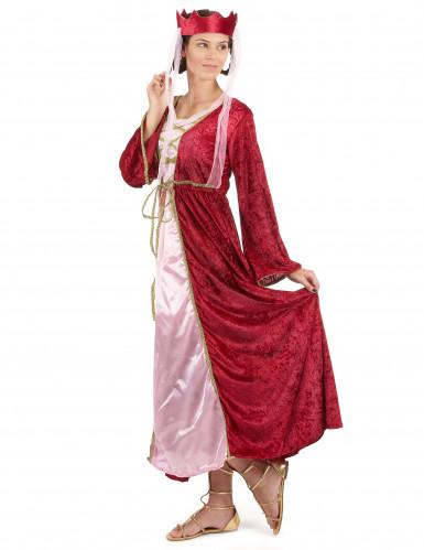 Déguisement reine médiévale femme-1