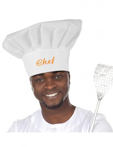 Toque de chef cuisinier adulte