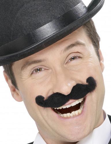 Moustaches noire à l'anglaise adulte