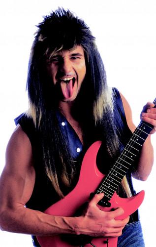 Perruque rockeur homme