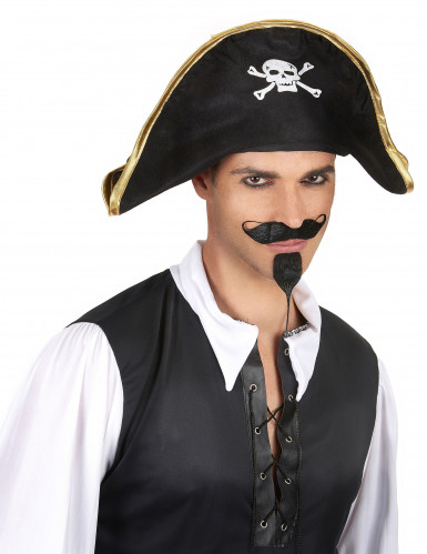 Chapeau chef des pirates adulte-1
