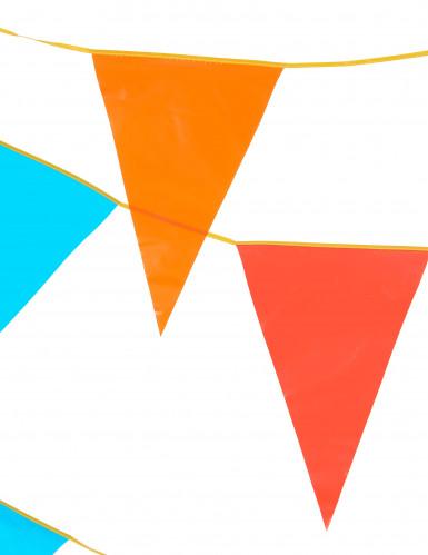 Guirlande fanions géants multicolores 10 m-1