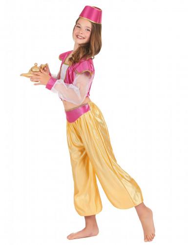 Déguisement danseuse orientale luxe fille-1