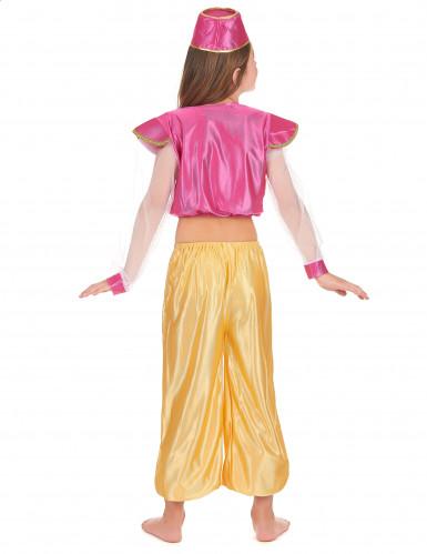 Déguisement danseuse orientale luxe fille-2