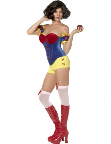 Déguisement Rebel Toons Blanche Neige sexy femme