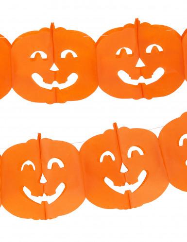 Guirlande citrouille Halloween 4m-1