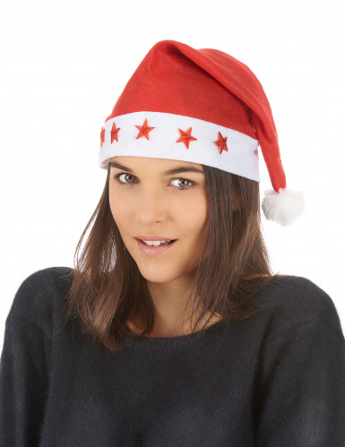 Bonnet lumineux Père Noël-1