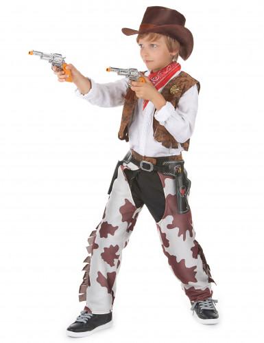 Déguisement cowboy luxe garçon-1
