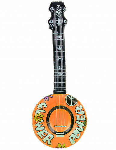 Banjo gonflable hippie-1