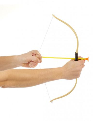 Arc avec 3 flèches enfant en plastique-1