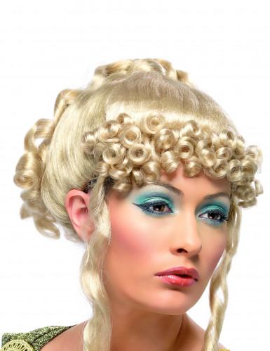 Perruque blonde de déesse grecque femme