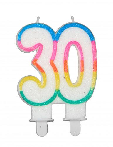 Bougie d'anniversaire chiffres-6