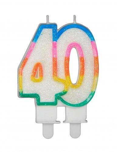 Bougie d'anniversaire chiffres-5