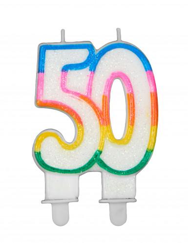 Bougie d'anniversaire chiffres-4