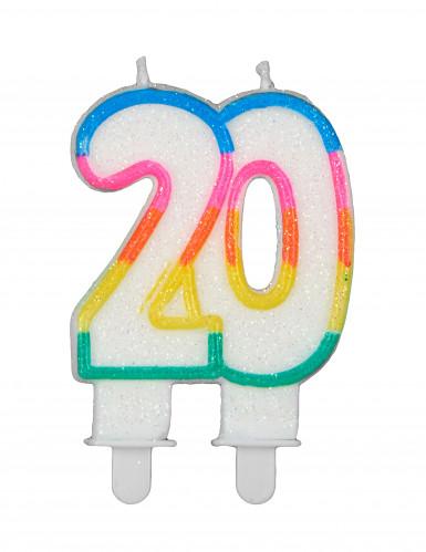 Bougie d'anniversaire chiffres-7