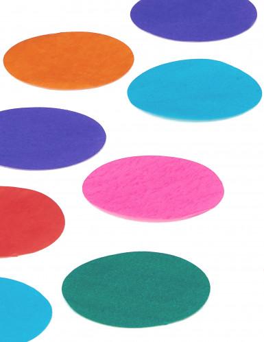 Confettis géant multicolores en papier-1