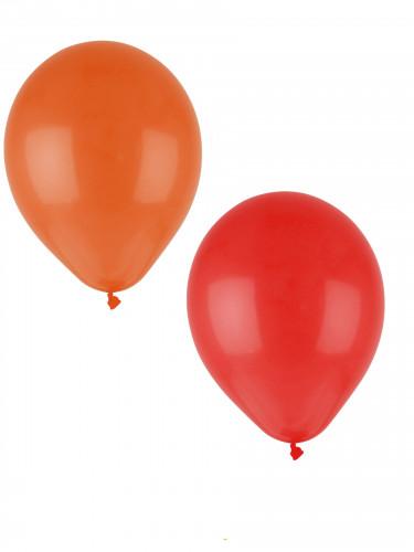 24 Ballons différentes couleurs