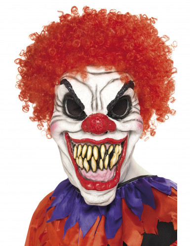 Masque clown terrifiant adulte Halloween