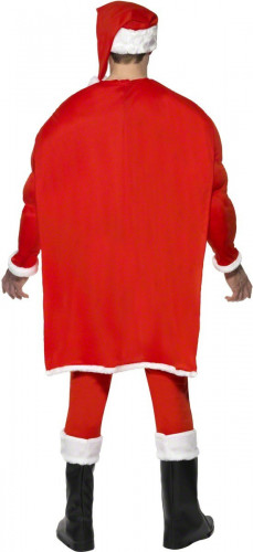 Déguisement  Père Noël musclé homme-1