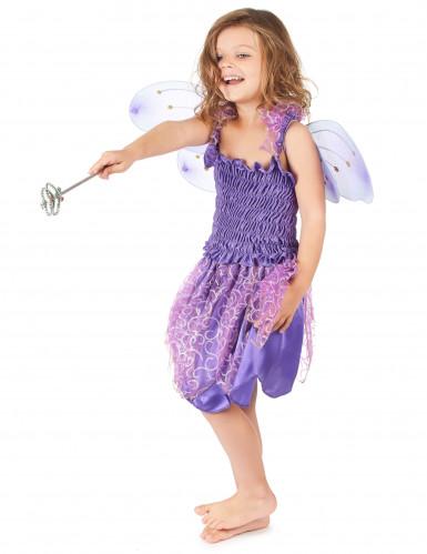 Déguisement fée violette fille-1