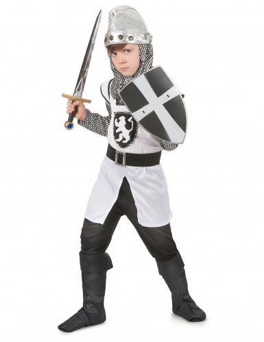 Déguisement chevalier médiéval croisé garcon-1