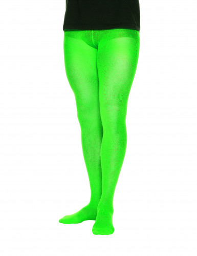 Collants opaques verts homme