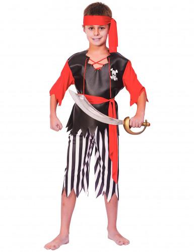 Déguisement pirate bermuda garçon