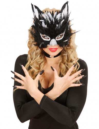 Masque chat adulte-1