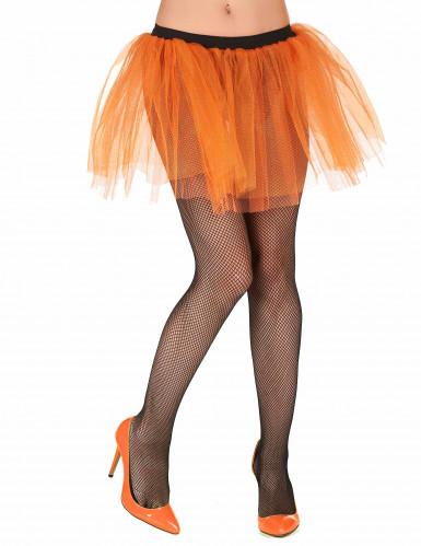 Tutu orange fluo femme