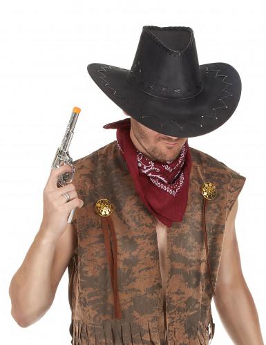 Bandana cowboy rouge-1