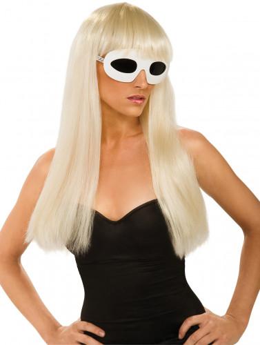 Perruque Lady Gaga™ femme