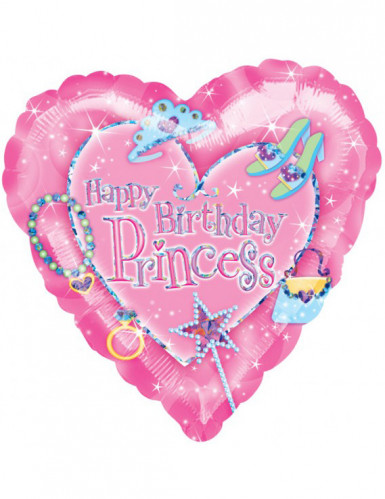 Ballon happy birthday princess