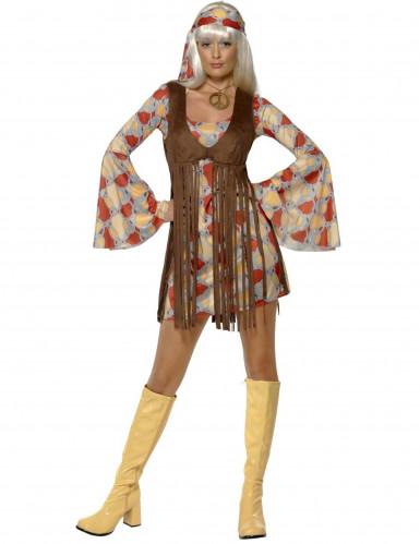 Déguisement hippie année 70 femme