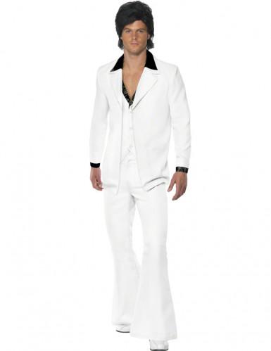 Déguisement disco blanc Homme
