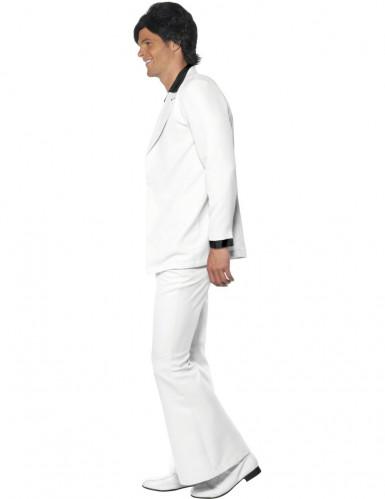 Déguisement disco blanc Homme -1