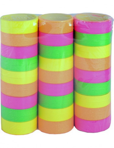 Lot de 3 rouleaux de serpentins