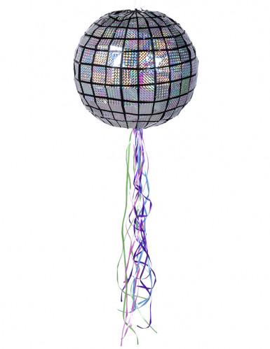 Piñata boule à facettes disco