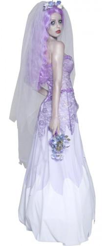 Déguisement mariée gothique femme Halloween-1