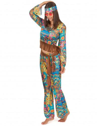 Déguisement hippie femme-1
